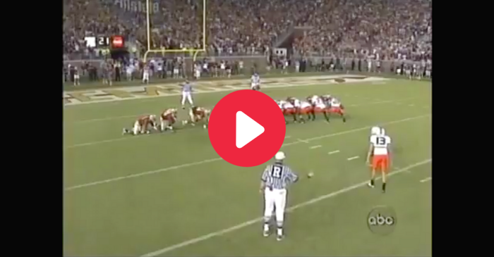 "FSU's Field Goal Curse Ended on ""The Miami Muff"""