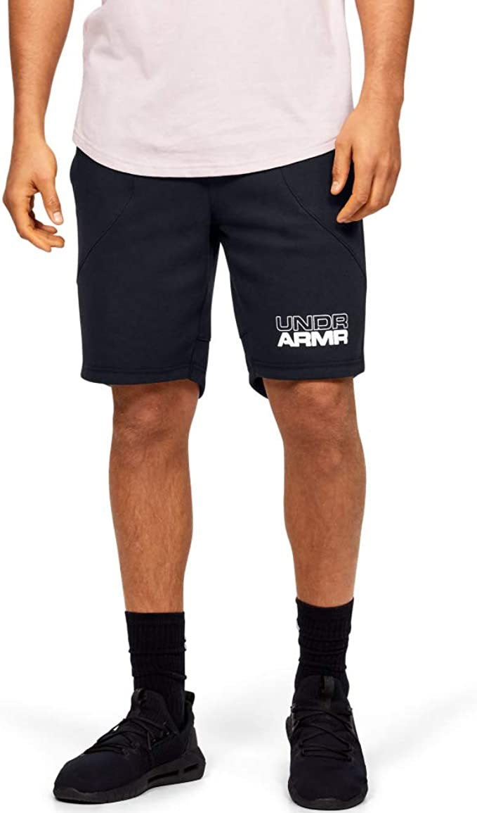 Under Armour Men's Baseline Fleece Basketball Shorts