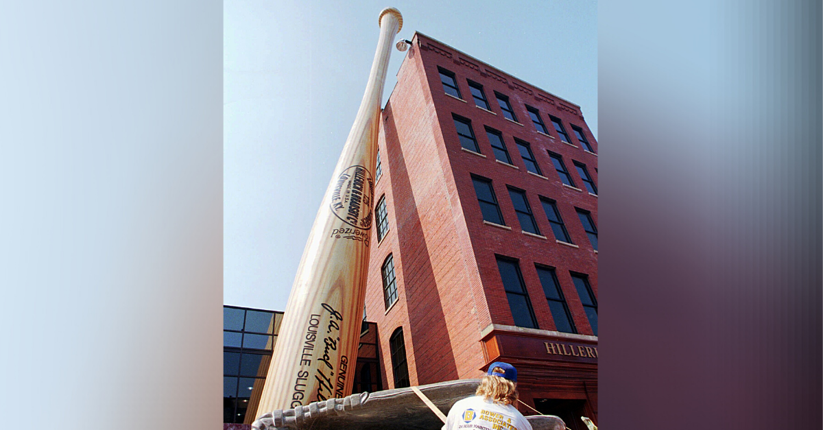 Worlds Largest Baseball Bat