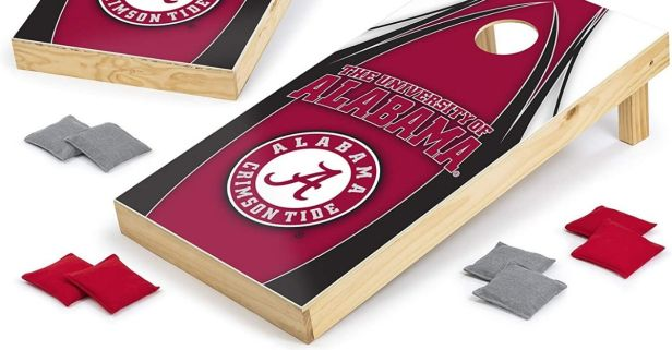 Take an Alabama Cornhole Set to Your Next Crimson Tide Tailgate
