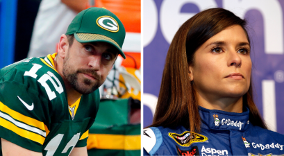 Aaron Rodgers, Danica Patrick Splitting Up After 2 Years