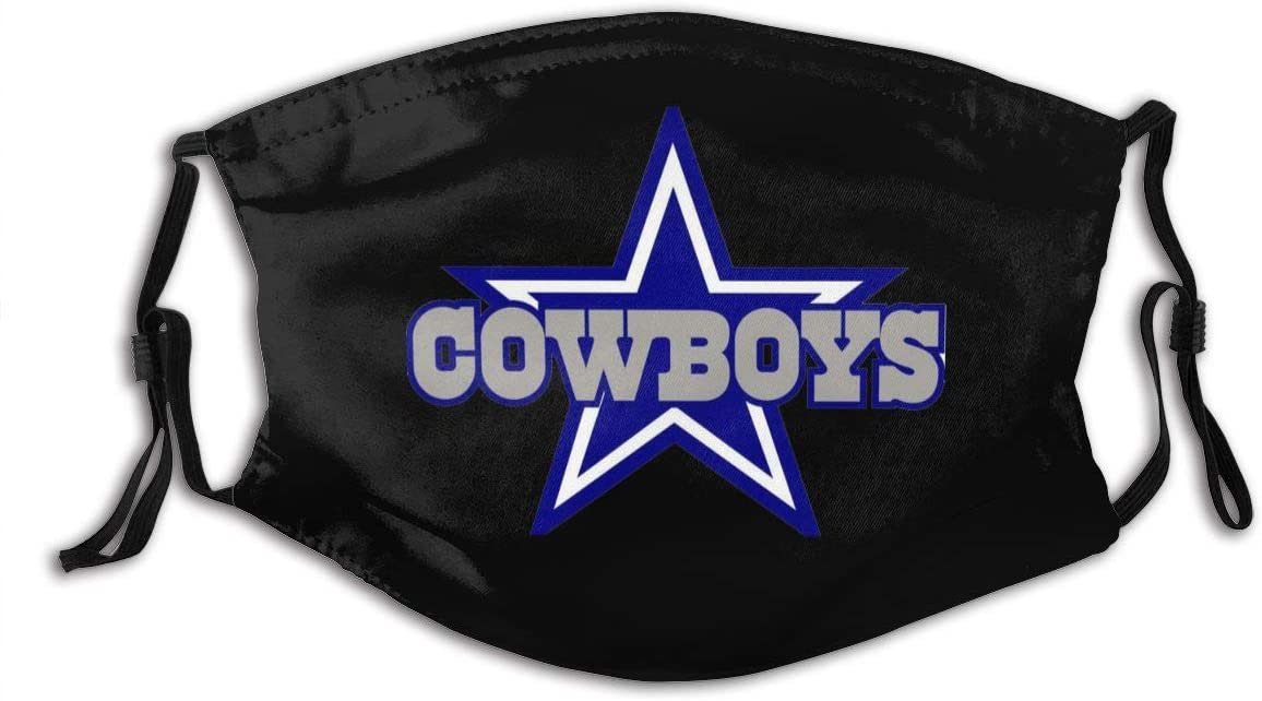 Anti-dust Cowboys Personalized Mouth Sleeve Reusable Mouth Guard