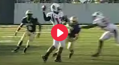This Double Pass TD Gave the Defense No Chance to Stop