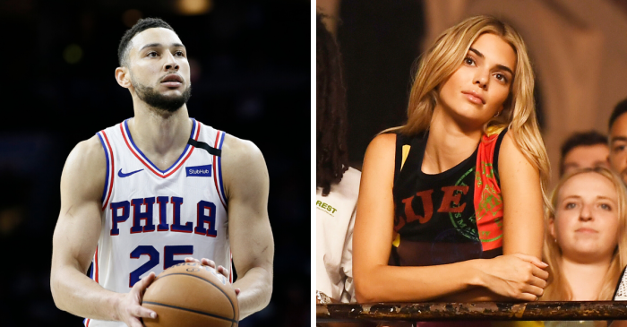 Everyone Ben Simmons Has Dated, But Mainly Kendall Jenner