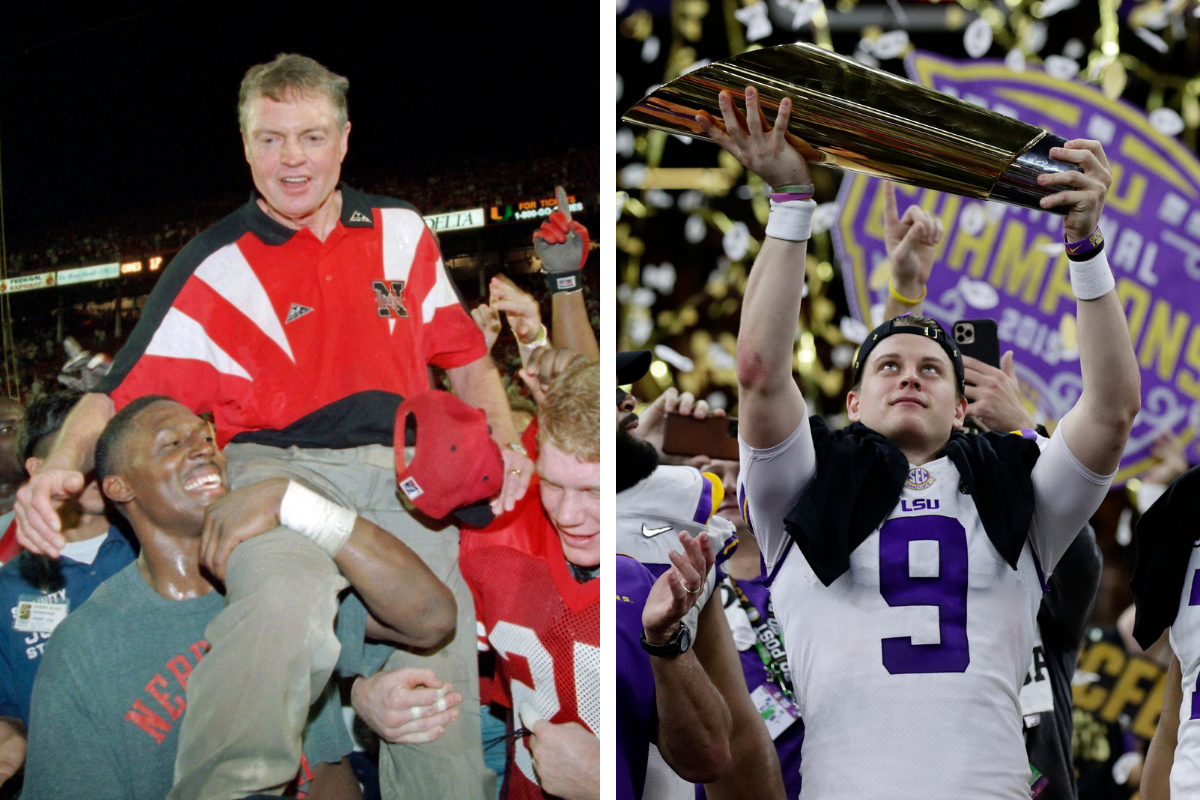 The 7 Greatest College Football Teams Ever Are All-Time Juggernauts
