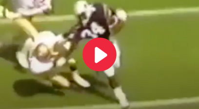 Bo Jackson Stiff-Armed Deion Sanders Like It Was Nothing