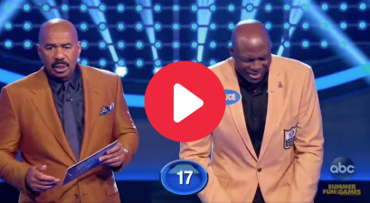 Bruce Smith's NSFW Answer Left Steve Harvey Speechless on 'Family Feud'