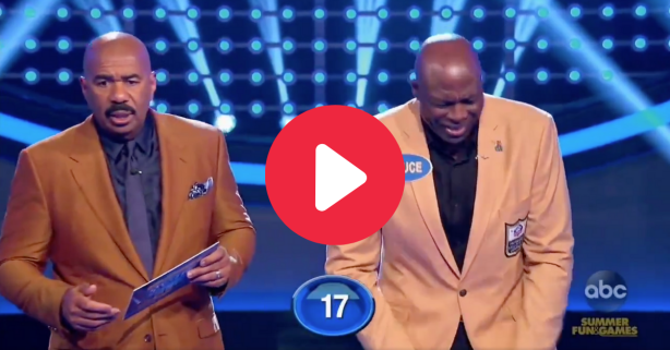Bruce Smith Left Steve Harvey Speechless with His NSFW Answer