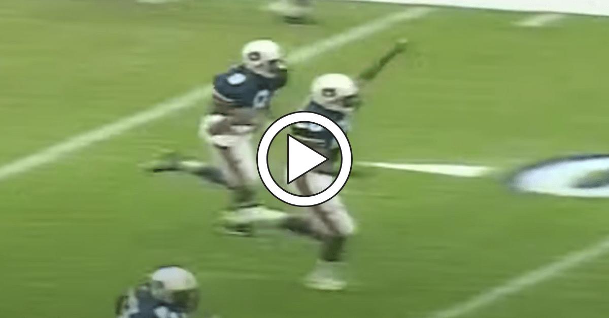 Calvin Jackson's Iconic Pick Six Helped Auburn Upset Florida