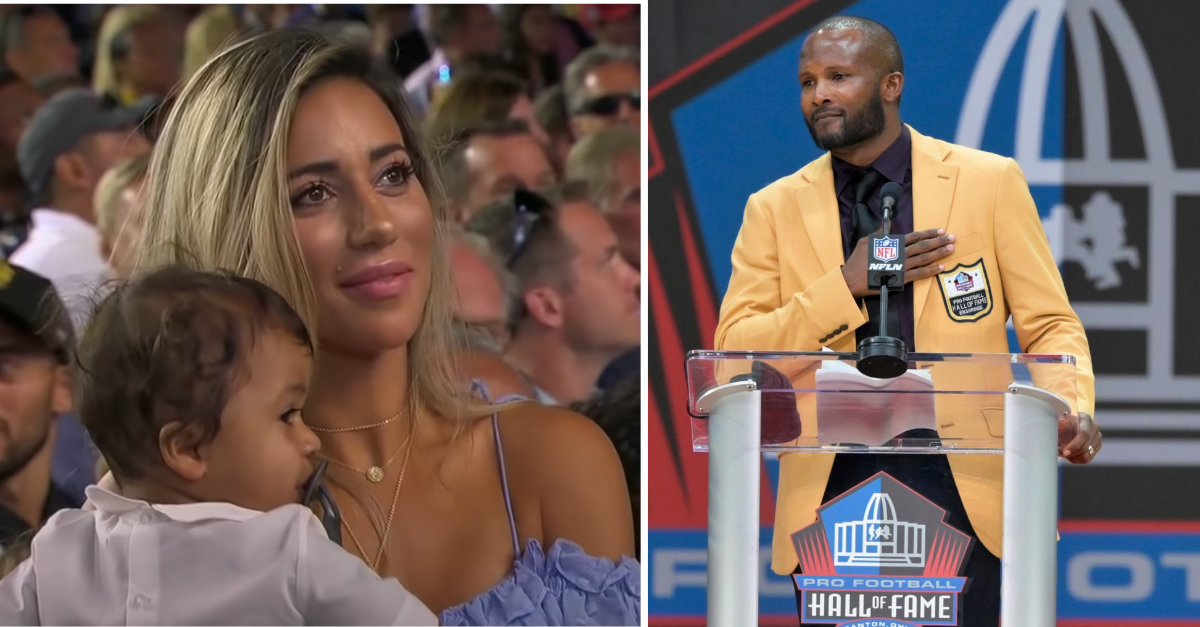 Champ Bailey Married a Model and Rode Off Into Retirement Life