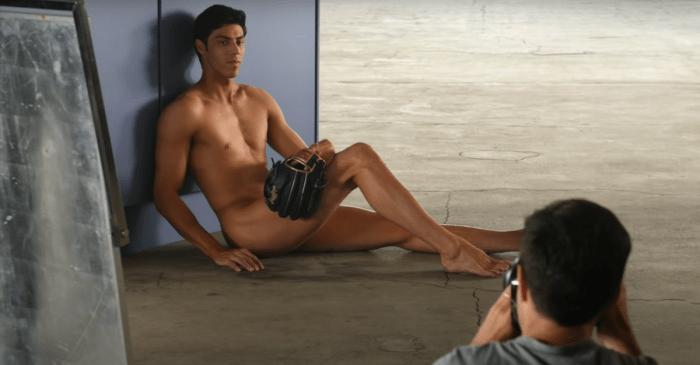 "Christian Yelich's ""Body Issue"" Photos Drove Ladies Wild"