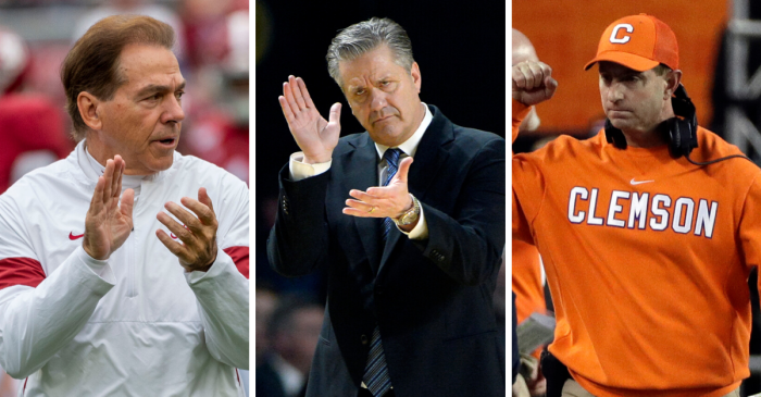 Most of Highest-Paid College Coaches Haven't Taken Salary Cuts