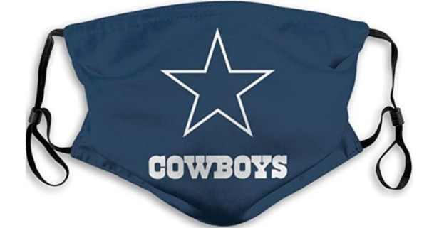 Cowboys Face Mask