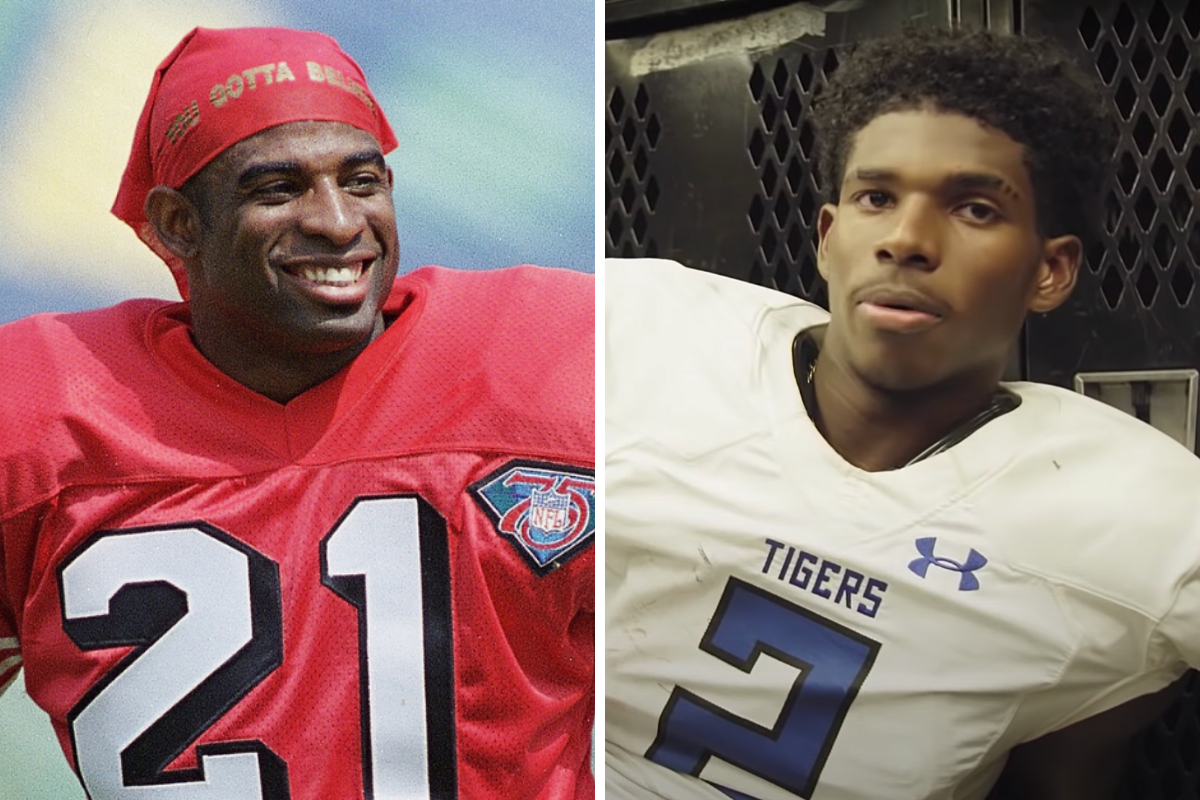 4-Star QB, Son of Deion Sanders, Commits To Dad's College