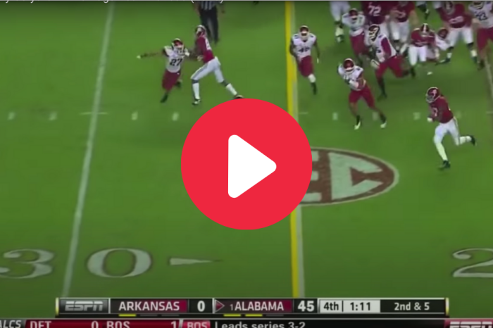 Derrick Henry Flashed 80 Yards Of Greatness On His 1st TD