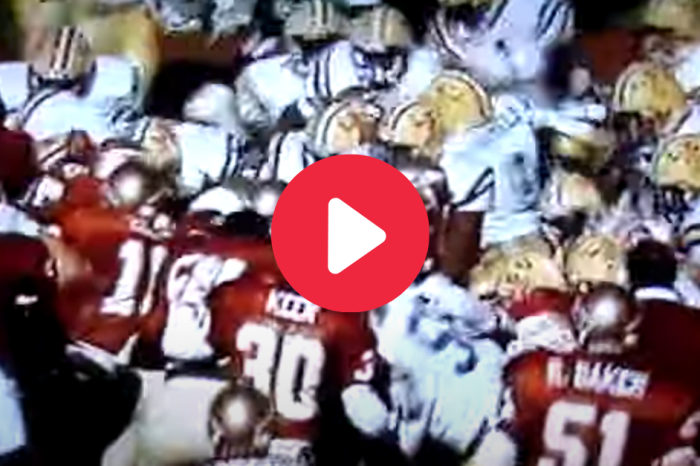 LSU's Only Game in Tallahassee Ended in a Massive Brawl
