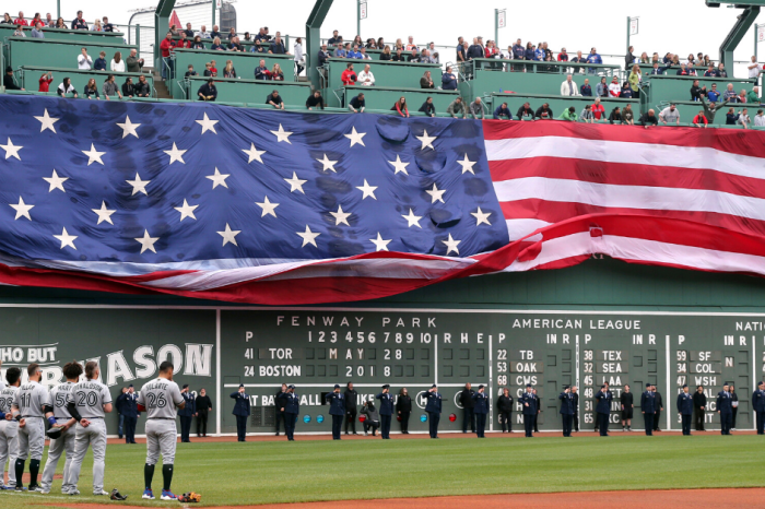"Boston's ""Green Monster"" Features Morse Code & A Secret Ladder"