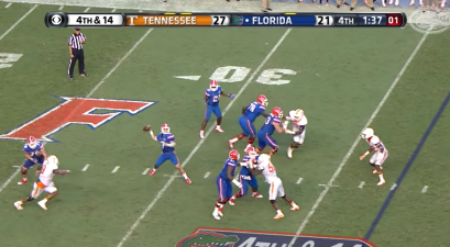 Florida's Miraculous 4th-and-14 Stunned Tennessee in The Swamp