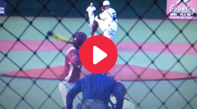 High School Pitcher Barehands Line Drive, Acts Like It's No Big Deal