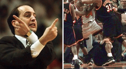 Jeff Van Gundy's Attempt to Stop NBA Brawl Was Pure Comedy