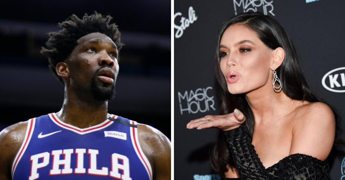 Joel Embiid Dates a Sports Illustrated Swimsuit Model