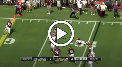 Johnny Manziel Rushed For His 1st TD and Never Looked Back