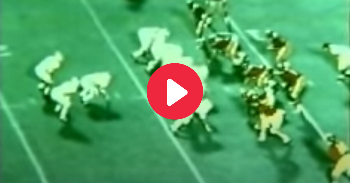 """Johnny Musso's TD Run vs. USC Showed Why He's """"The Italian Stallion"""""""