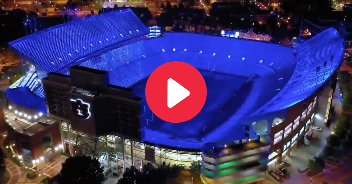Jordan-Hare Stadium's New Lighting Makes Night Games Even More Electric