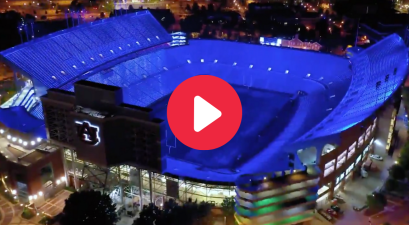 Jordan-Hare Stadium's New Lighting Makes Night Games Even More Electric
