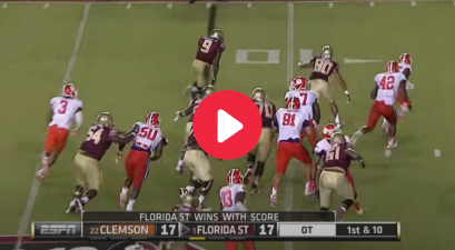 Karlos Williams' Walk-Off TD Kept FSU's Record Winning Streak Alive