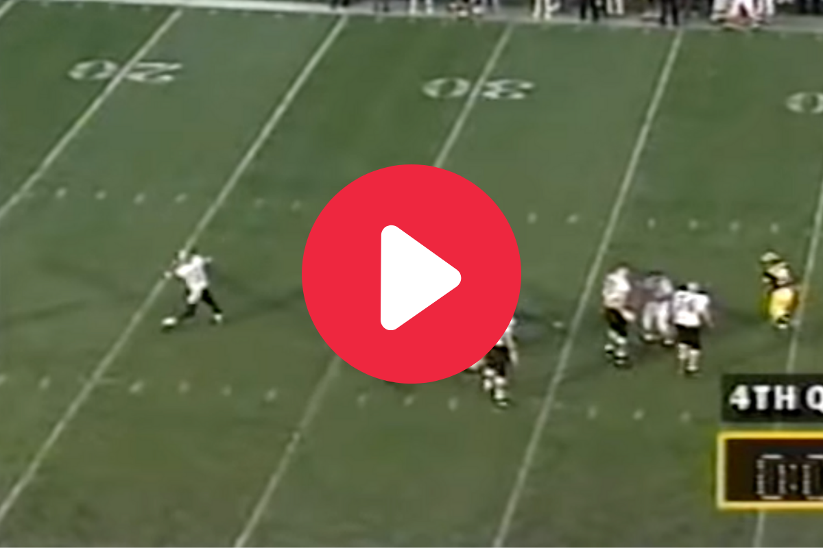 Kordell Stewart's Iconic Hail Mary Traveled 75 Yards Through the Air