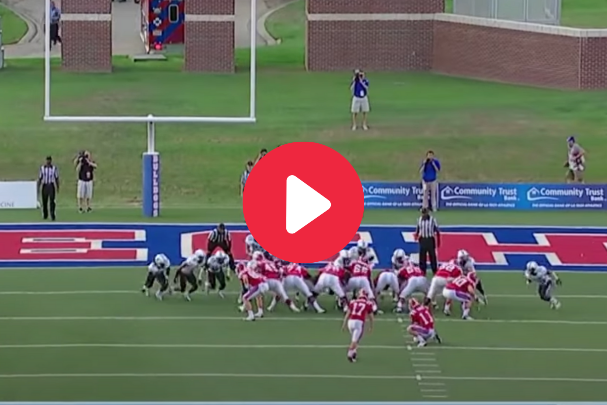 Kicker Banks Field Goal Off Both Uprights, And Somehow Makes It