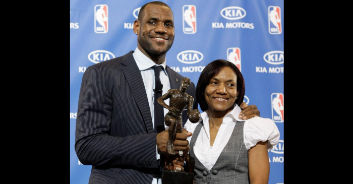 LeBron James' Mom Raised Her Son as a Single Mother