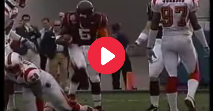 Marcus Vick Stomped On His Opponent's Leg, And Ended His College Career