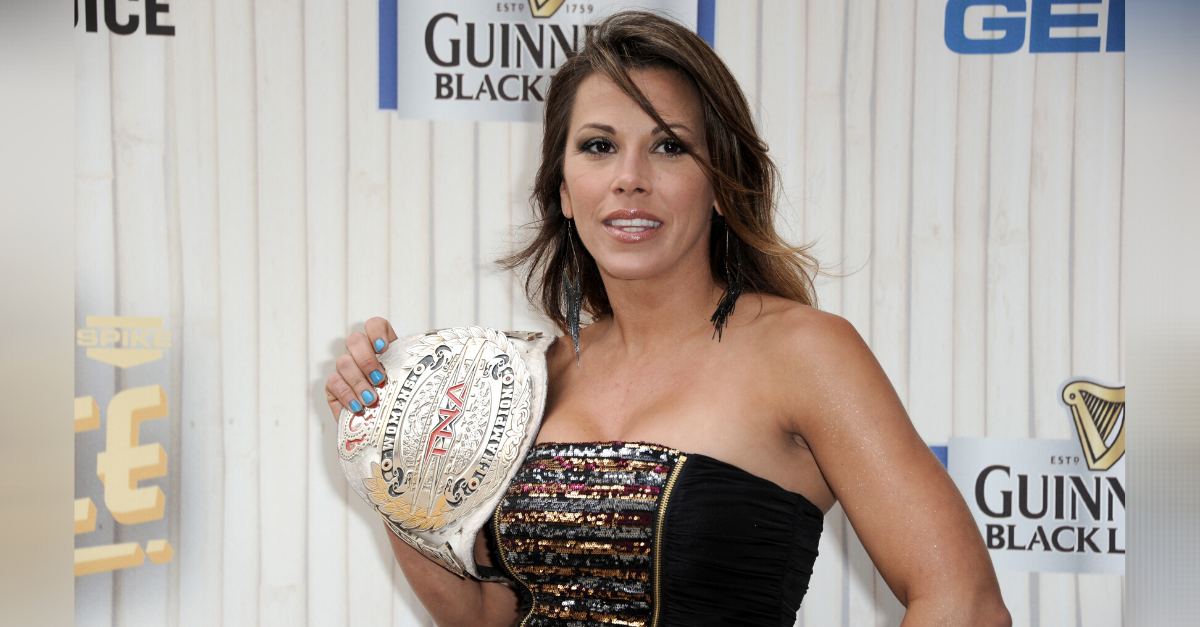 Mickie James Is Still The Baddest Chick Around at 40
