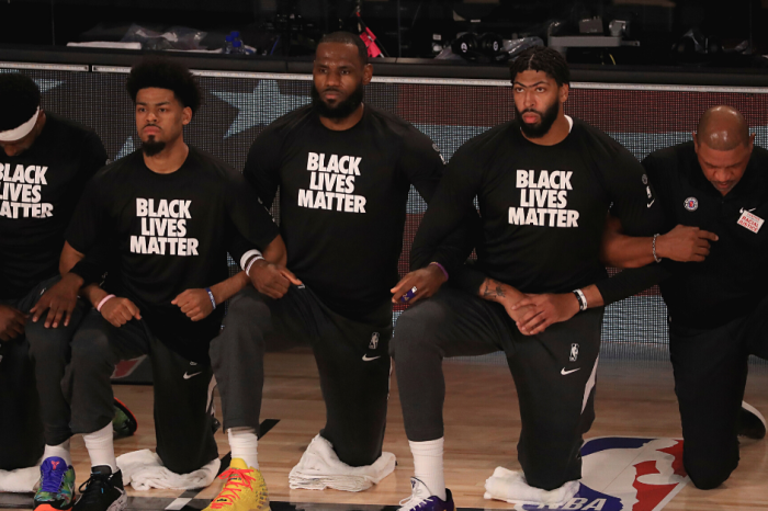 NBA Players, Coaches Kneel During National Anthem