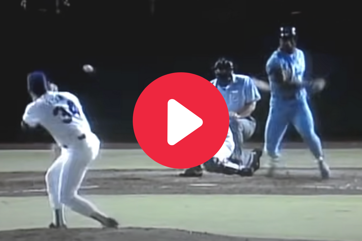 Nolan Ryan Took Bo Jackson's Liner to the Face, But He Kept Pitching