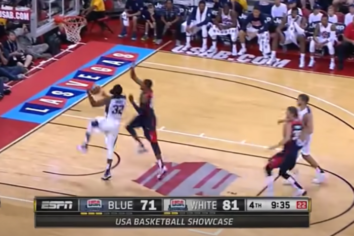 Paul George's Nasty Leg Break Didn't Stop His Determination