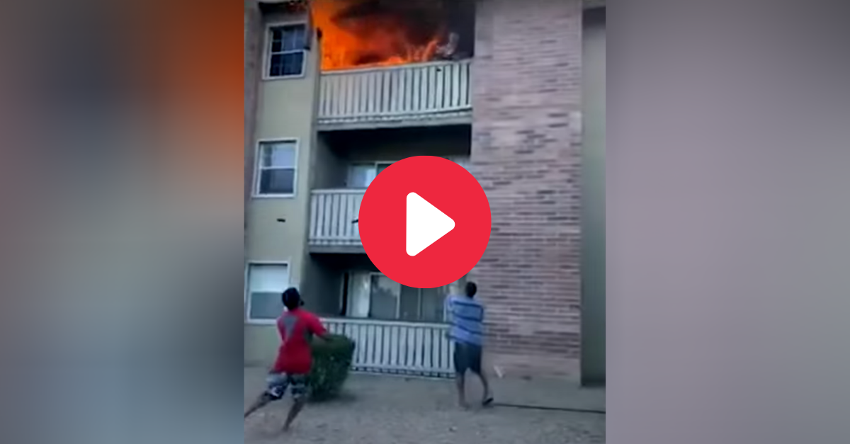 Former College WR Catches 3-Year-Old Thrown from Burning Apartment