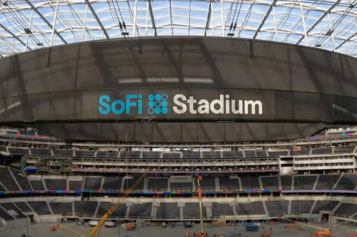 NFL's Biggest Videoboard is Wider and Longer Than Any Football Field