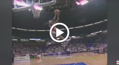 Spud Webb Redefined Gravity at 1986 NBA Dunk Contest