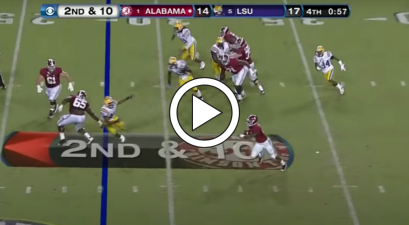 T.J. Yeldon's Screen Pass TD Stunned Everyone in Death Valley