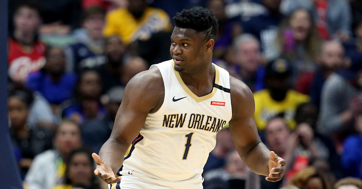 Zion Williamson's Weight Isn't a Problem. It Makes Him More Dangerous