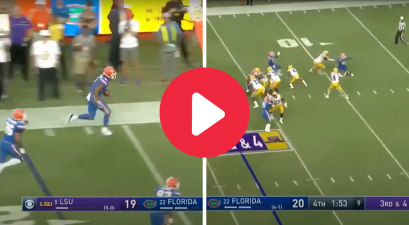 "Florida's Pick-Six Against Joe Burrow Made ""The Swamp"" Boil Over"