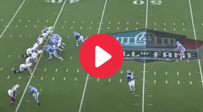 "The ""Behind-The-Back"" Fake Punt Completely Fools Everyone"