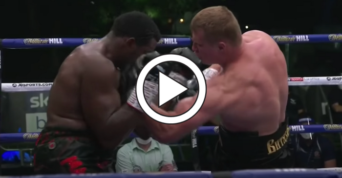 Boxer's Mean Uppercut Delivers Cold-Blooded Knockout