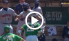 Astros, Athletics Fight