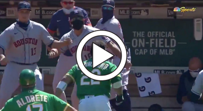 Hitter Charges Astros Dugout, And Everyone Wanted to Fight