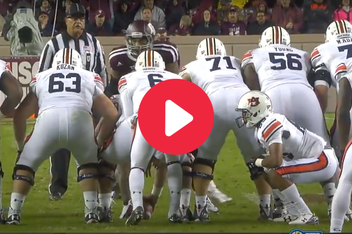 "Auburn's ""Hidden Human"" Trick Play Caught Everyone Off Guard"