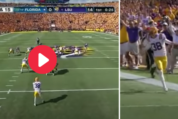 LSU's Fake Punt Brought the House Down, And a Dumb Penalty Spoiled It